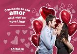 Notícia: Comércio nova-limense está otimista com a aproximação do Dia dos Namorados